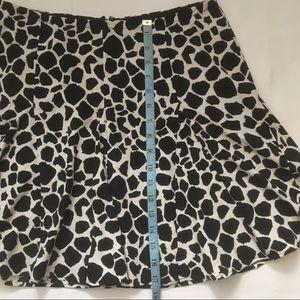 PJK Patterson J. Kincaid Skirts - PJK Patterson J Kincaid Animal print flounce mini